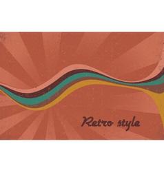 retro music poster vector image