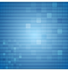 Bright blue technical background vector image vector image