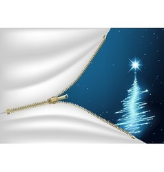 Blue Christmas Composition vector image