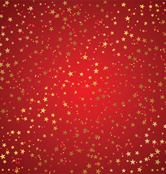 Christmas background of gold stars 0510 vector