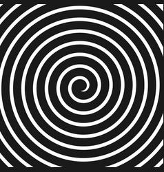 concentric lines spiral volute hypnosis circular vector image