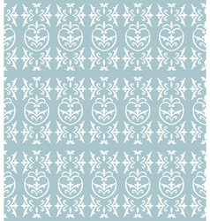 Damask light blue vector