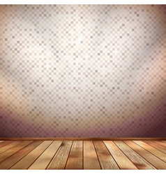 Nice wooden floor background EPS 10 vector image
