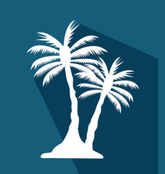 Palm tree image vector