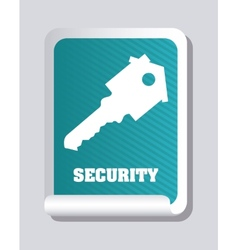 Securty home vector