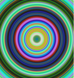 Colorful concentric circle background vector