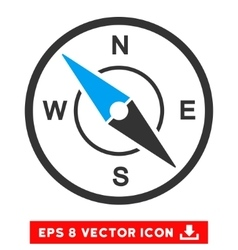 Compass Eps Icon vector image
