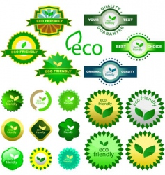 eco vector image