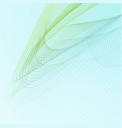 abstract background with wave lines vector image
