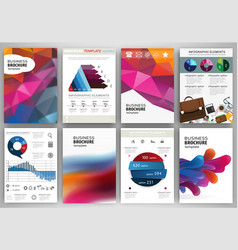 abstract backgrounds concept infographics and vector image
