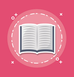 Academic book icon image vector
