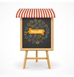 Bakery Concept Outline vector