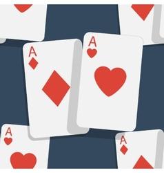 Casino poker seamless background vector