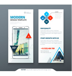 Dl flyer design template flyer banner layout vector