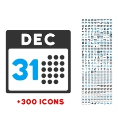 Last Year Day Icon vector