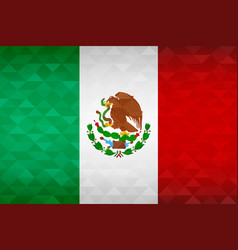 mexico country flag of mexican nation vector image
