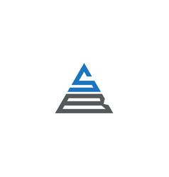 S b letter logo design on black color background vector