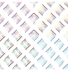 seamless dots patterns for background vector image