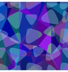 Shades blue abstract square background vector