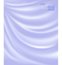 smooth elegant luxury silk vector image