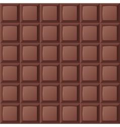 Chocolate bar seamless vector image