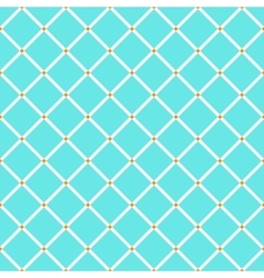 Blue and orange rhombus simple geometric seamless vector