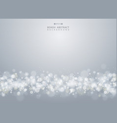 abstract of christmas gradient gray bokeh vector image