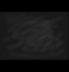 black chalkboard texture background vector image