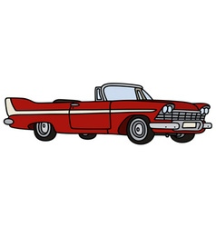 Classic cabriolet vector