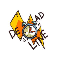 Deadline word and alarm clock time limit vector