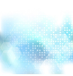Modern abstract bright halftone background vector