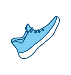 running shoe footwear vector image