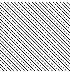 Striped black seamless pattern vector