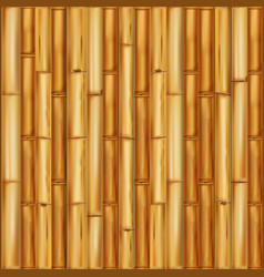 Wooden bamboo background seamless pattern vector