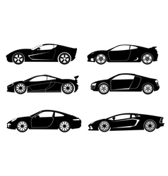 Super Car vector image