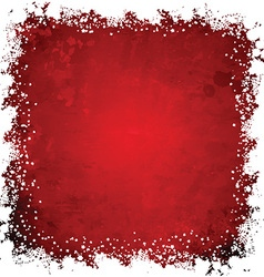 grunge snowflakes 3110 vector image