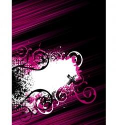 stripe grunge background vector image vector image