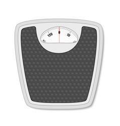 bathroom floor weight scale vector image