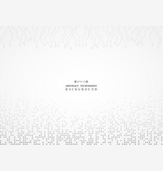 abstract of electronic background digital gray vector image