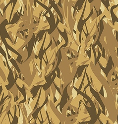 Army pattern of flames Military Camouflage texture vector image