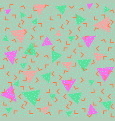 Colorful abstract pattern with green and pink vector