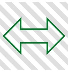 Exchange Horizontal Icon vector