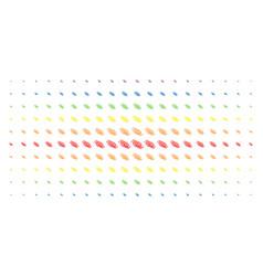 Galaxy spectral halftone effect vector