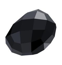 Isolated gemstone vector
