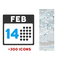 Romantic Valentine Day Icon vector image