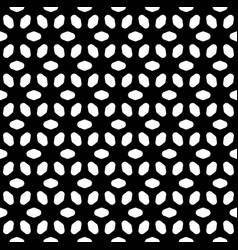 Seamless pattern black and white texture vector