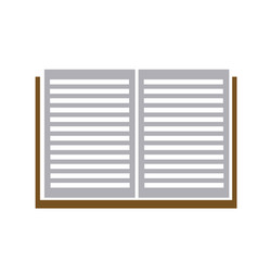 open book read learn library image vector image vector image
