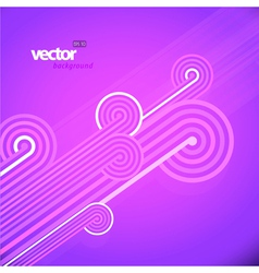 abstract lines vector image vector image