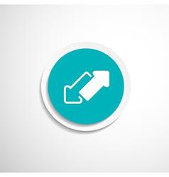 2 side arrow seamless web page vector image
