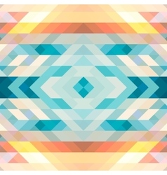 Abstract multicolored background of triangles vector